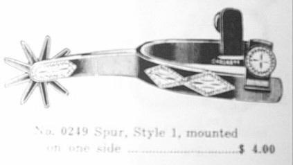 crockett spurs catalog